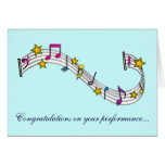 Congratulations on Your Music Performance