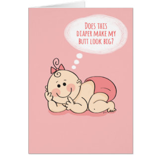 Congratulations on Your new Baby Diva Baby Card