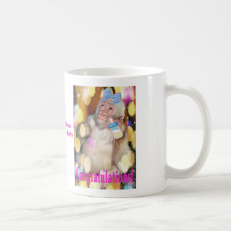 Congratulations! on your new baby girl! MUG