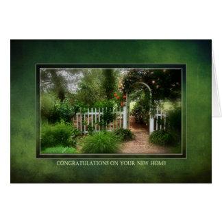 Congratulations on your New Home - Dreamy Garden Card