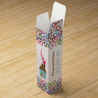Congratulations On Your New Home Wine Gift Box