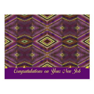 congratulations on your new job post card