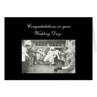 Congratulations on your Wedding Day... Greeting Card