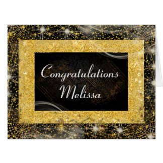 Congratulations Personalised Greetings Card