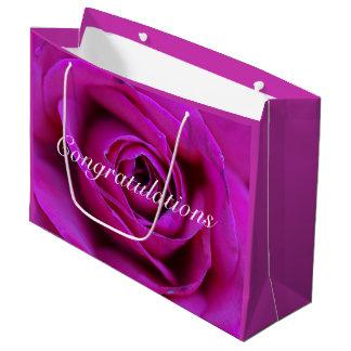 Congratulations Rose Gift Bag