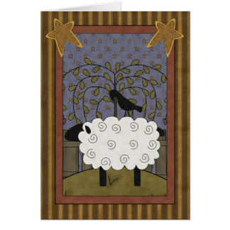 Congratulations Sheep & Raven Card