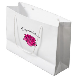 congratulations special edition large gift bag