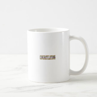 CONGRATULATIONS: Success, Excellence,Event, GIFTS Coffee Mug