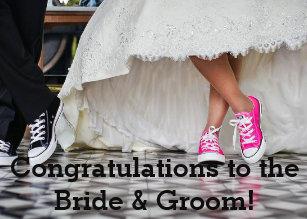 congratulations to the bride groom