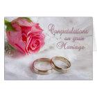 Congratulations Wedding Marriage Card
