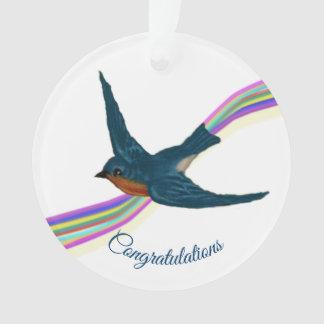 """Congratulations, ""You dared, you dreamed, you .."" Ornament"