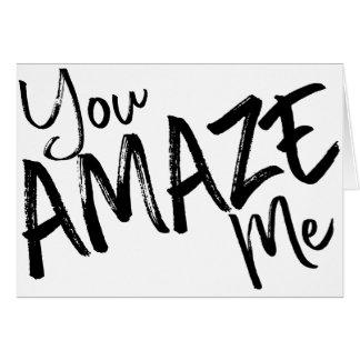 Congratulations - YOU'RE AMAZING Card