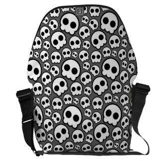 Congregation skulls courier bags