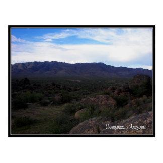 Congress, Arizona Postcard