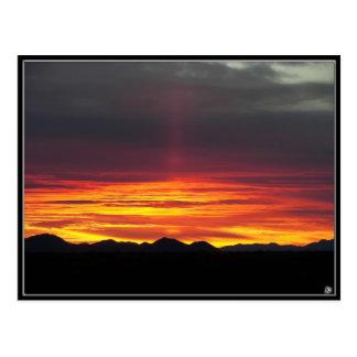 Congress, Arizona Sunset Postcard