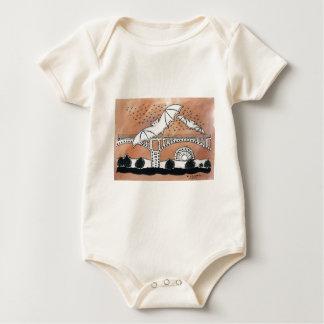 Congress Avenue Bats Baby Bodysuit