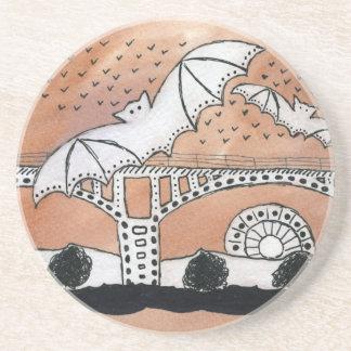 Congress Avenue Bats Coaster