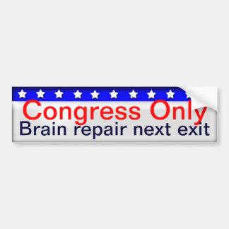 Congress Bumper Sticker