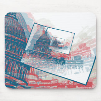 Congress Capitol Building Mouse Pads