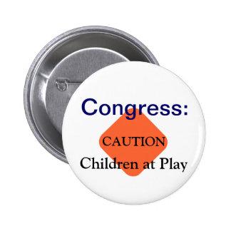 Congress children at play button