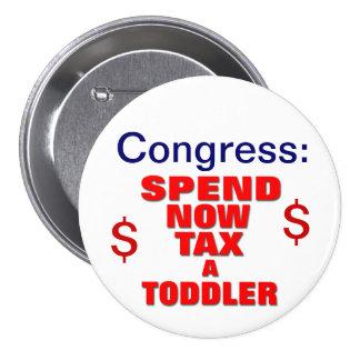 Congress Deal Pinback Button