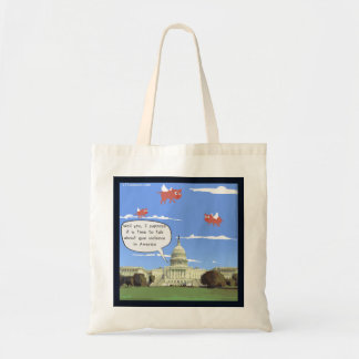 Congress & Gun Talk When Pigs Fly Mini Tote Bag