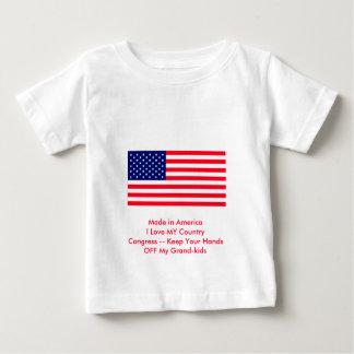 Congress -- Keep Your Hands OFF My Grand-kids Baby T-Shirt