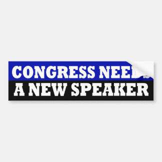 Congress Needs a New Speaker Sticker