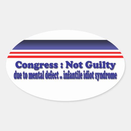 Congress Sticker