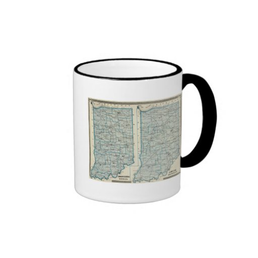 Congressional districts Judicial districts Indiana Coffee Mugs