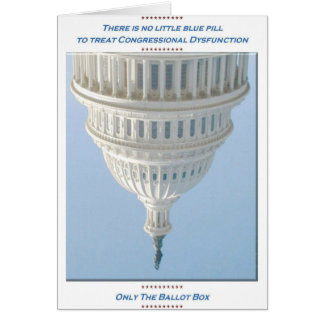 Congressional Dysfunction Card