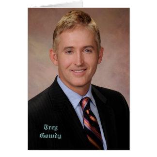 Congressman Trey Gowdy Card