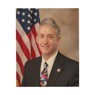 Congressman Trey Gowdy Wood Canvas