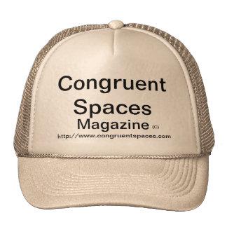 Congruent Spaces Magazine Design Hat