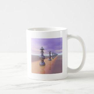 Conical Geometric Progression Coffee Mug