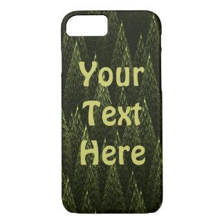 Conifers Fractal iPhone 7 Case