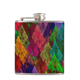 Conifers Hip Flask