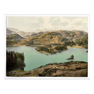 Coniston, Tarn Howes, Lake District, England class Postcard