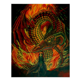 Conjure the Dragon Print
