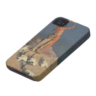 Conjuring Back the Buffalo by Frederic Remington Case-Mate iPhone 4 Cases