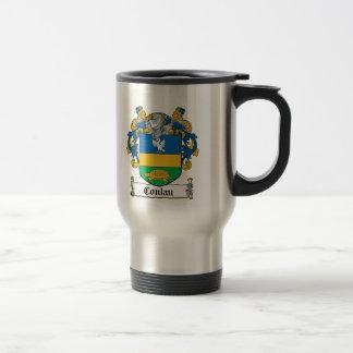 Conlan Family Crest Stainless Steel Travel Mug