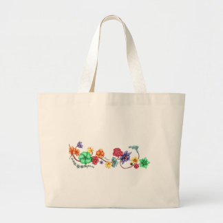 Connect Large Tote Bag