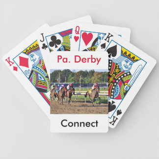 Connect, Pennslyvania Derby Winner Bicycle Playing Cards