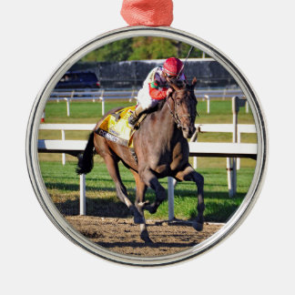 Connect, Pennslyvania Derby Winner Metal Ornament