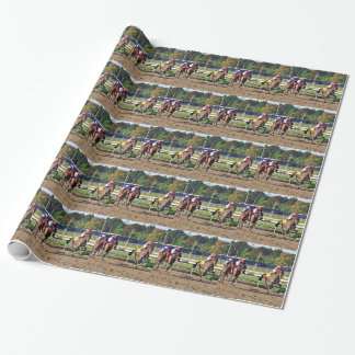 Connect, Pennslyvania Derby Winner Wrapping Paper