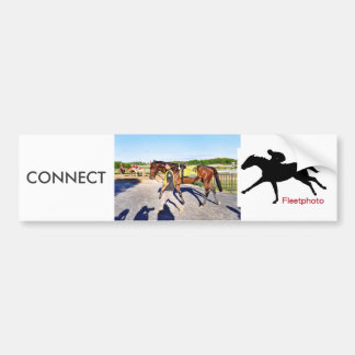 Connect - Pennsylvania Derby Winner Bumper Sticker
