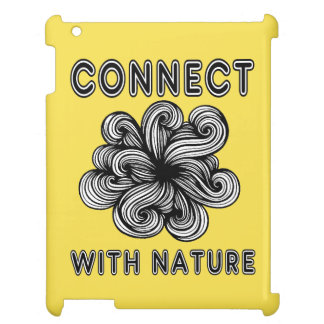"""Connect with Nature"" 631 Art iPad Case"