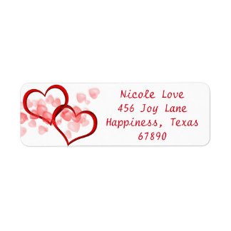 Connected At The Heart Return Address Label
