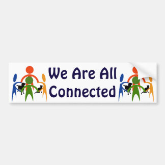 Connected bumper sticker