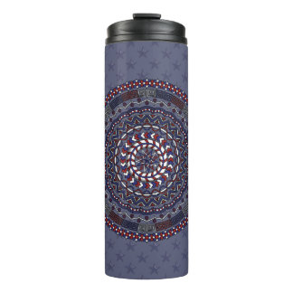Connected Independence Day Thermal Tumbler